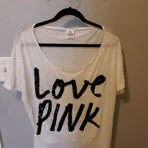Women's PINK by VS Large top